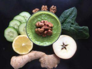 Zelený jarní detox