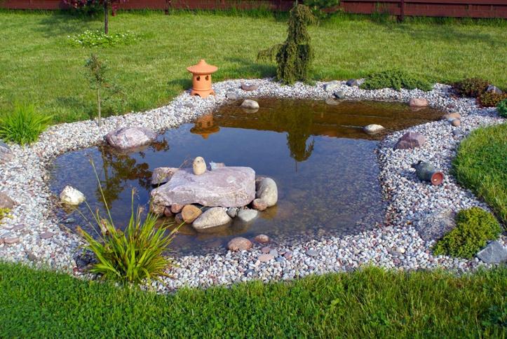 Zahradní jezírka a koupací jezírka – část 1
