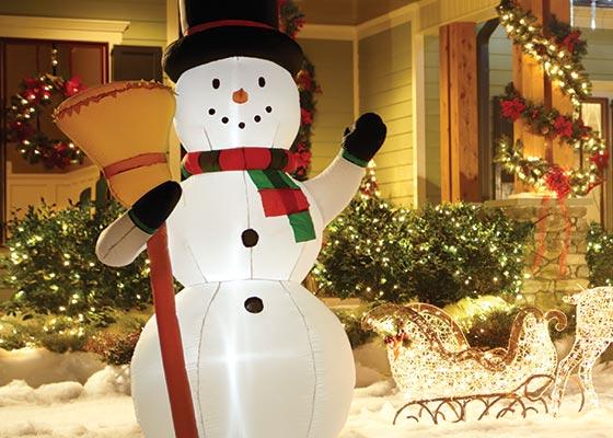 Nafukovací sněhulák