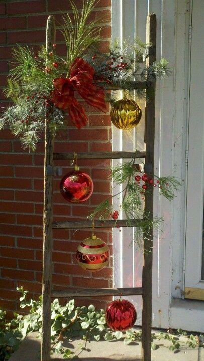 Vánoční žebřík