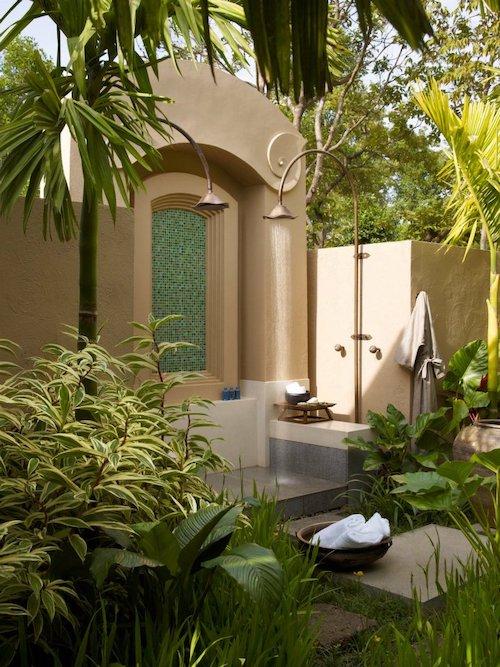 Koupelna na zahradě